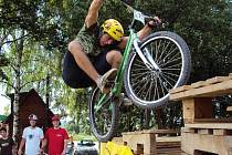 Hodonínský biketrialista David Herka.