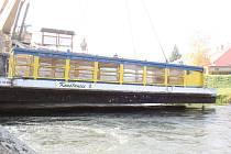 Výletní loď Konstancie je zpátky na vodě.
