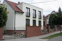 Nový dům bývalého lidoveckého ministra Libora Ambrozka v Kyjově.