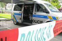 Nová dodávka Volkswagen Transporter je novým pomocníkem hodonínských republikových policistů.