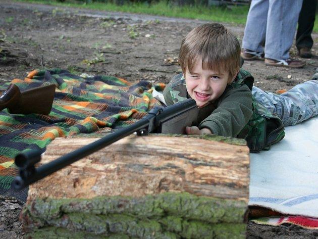 Soutěž ve střelbě