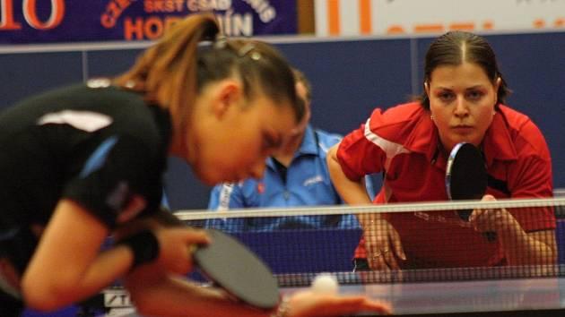 Stolní tenistky Hodonína se s francouzským celkem CP Lyssois Lille Metropole utkají znovu po dvou letech. Česká reprezentantka Kateřina Pěnkavová do utkání ale letos nezasáhne.