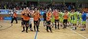 Superliga přilákala do ochozů haly TEZA v Hodoníně 739 diváků.