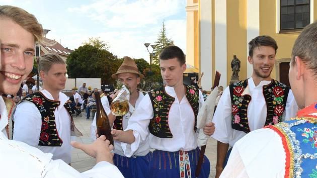 Hodonín ožije Svatovavřineckými slavnostmi
