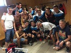 Starší dorostenci Kyjova se opět po roce vrátili do divize. Svůj triumf v krajském přeboru stvrdili v derby proti Veselí nad Moravou.