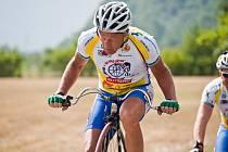 Josef Zimovčák vyjel podruhé na Tour de France. Propagoval hlavně projekt Na kole dětem.