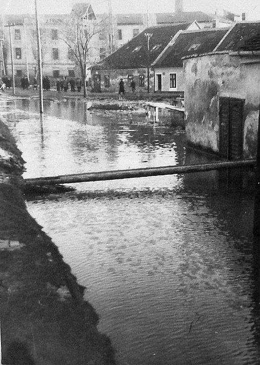 Spodní část Pančavy byla často pod vodou.