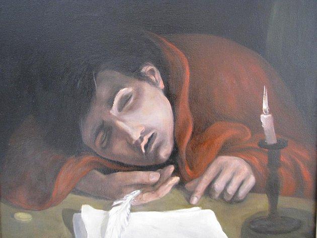 Neco svatých je název výstavy umělce z Veselí nad Moravou Tomáše Bubláka.