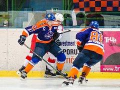 Hokejisté Hodonína se v posledních zápasech hodně trápí. Doma podlehli Porubě 2:6.