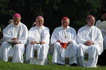 Křesťané si oslavili Cyrila a Metoděje na mikulčických Valech