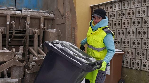 Svoz odpadu. ilustrační foto.