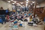 Sbírka v Hodoníně pro strádající děti v uprchlickém táboře na ostrově Chios.