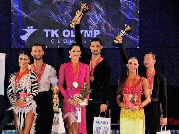 Václav Masaryk sKlárou Chovančíkovou skončili vhlavním programu Super taneční ligy dospělých na druhém místě.