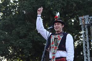 Martin Vašulka při finále ve Strážnici.