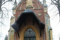 Hřbitovní kaple.