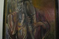 Díla malíře Oldřicha Pindy. Ilustrační foto.