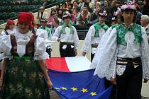 Zahájení Mezinárodního folklorního festivalu Strážnice.