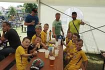 Minulou sobotu se ve Vacenovicích konal oblíbený turnaj pro nejmenší fotbalisty O pohár starostky obce Vacenovice.