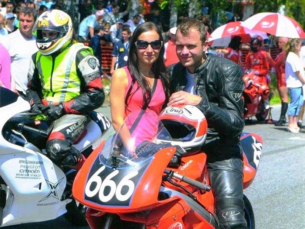 Kyjovský jezdec Lukáš Bělič obsadil na jubilejním padesátém ročníku legendárního závodu 300 zatáček Gustava Havla v kategorii Klasik do 350 ccm třetí.