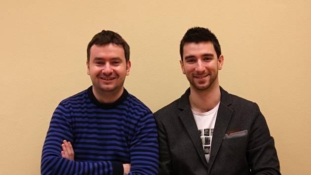 Do projektu Kód Života se pustili kolegové a kamarádi Jan Komosný (vlevo) a Marcel Janák.