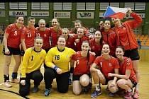 České házenkářky do dvaceti let skončily v kvalifikační skupině, kterou o víkendu hostila hodonínská sportovní hala TEZA, druhé. Turnaj ovládlo favorizované Německo.