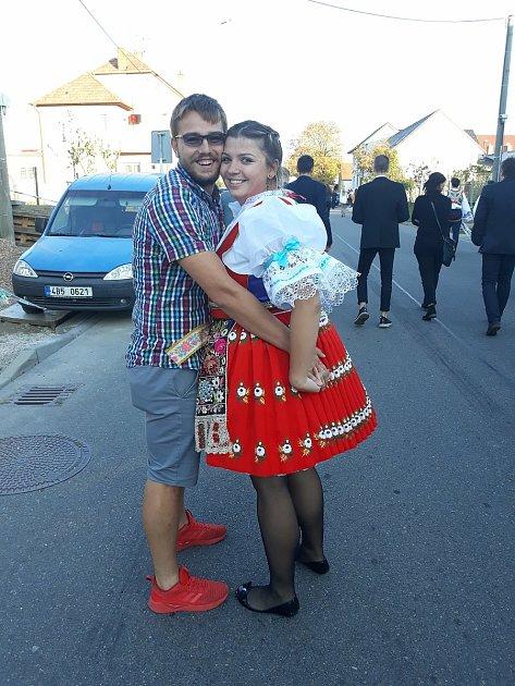 Denisa Zemánková spřítelem Filipem.