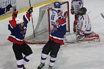 Mladí Drtiči (v bílých dresech) prohráli v mezistátním přípravném utkání s výběrem Slovinska do třinácti let 5:6.