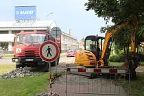 Začaly stavební práce na novém úseku cyklostezky ve Bzenci ve Strážnické ulici.
