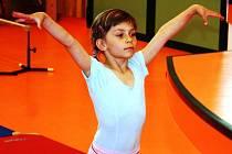 Talentovaná gymnastka Tereza Bábíčková vyhrála další závod.