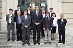 Japonská delegace navazuje spolupráci s Hodonínem