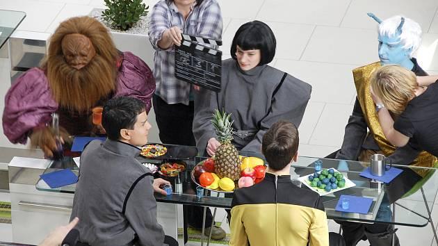 Natáčení fanfilmu Star Trek Skryté hry.