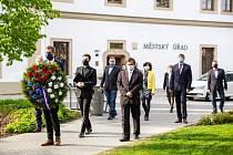Veslští uctili památku padlých v druhé světové válce