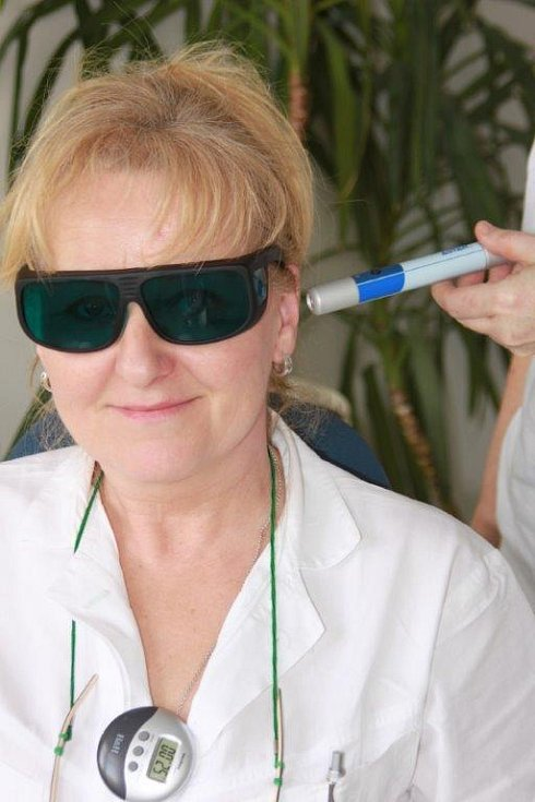 Novým laserovým přístrojem budou v Kyjově hojit pohybový aparát nebo jizvy.