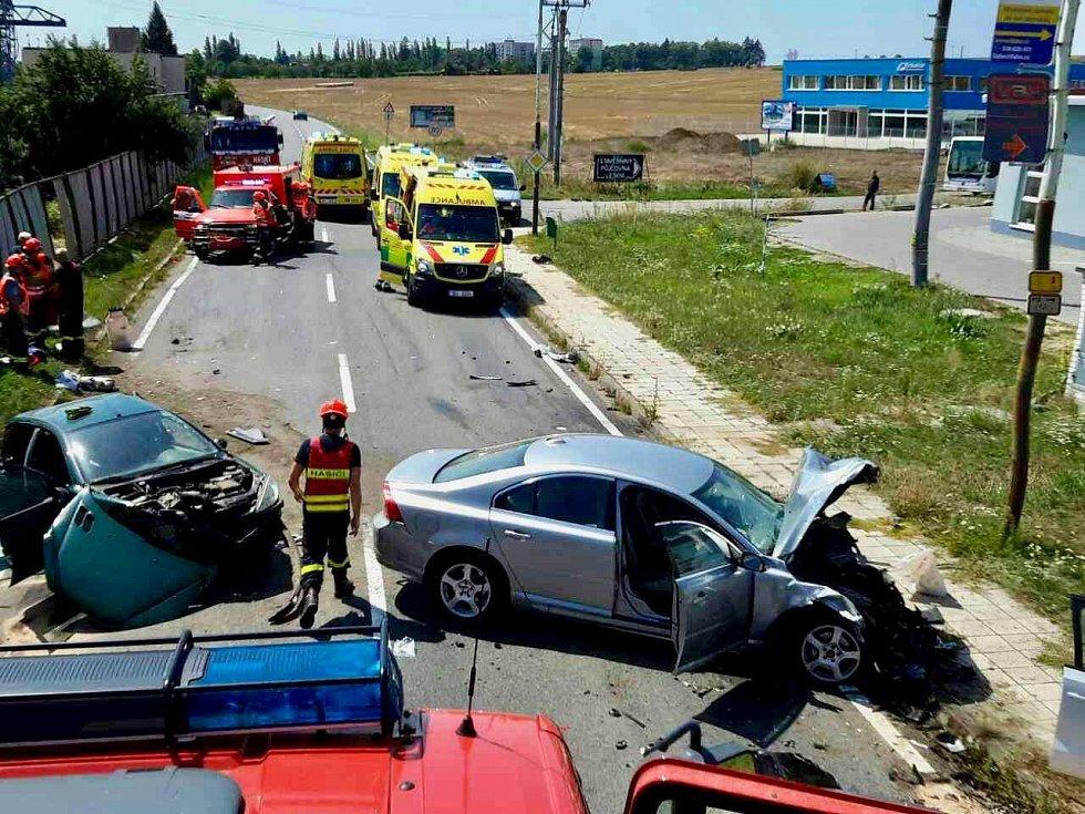 Nehoda v Kyjově.