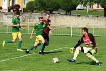 Fotbalisté Mutěnic v přátelském utkání se Spartou Brno podlehli 1:6.