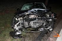 Páteční nehoda, kterou způsobila opilá řidička, si vyžádala dvě zranění. Obě ženy převezla sanitka do brněnské nemocnice.