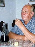 Václav Šťastný na snímku z rodinného archivu.