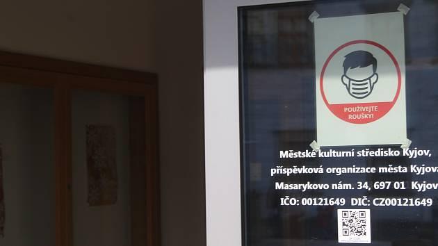 Městské kulturní středisko v Kyjově. Zde má od středy zahájit provoz očkovací centrum. Denně se tady má naočkovat 240 lidí.