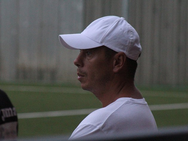 Trenér hodonínského B-týmu Vladimír Malár