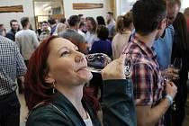 Místní výstava vín ve Vacenovicích přilákala milovníky ušlechtilého nápoje už podevětačtyřicáté.