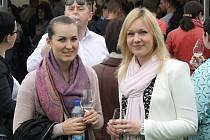 Košt vín v Ratíškovicích se poprvé konal na tamním hřišti.