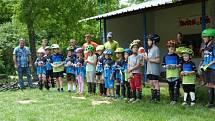 Okresního přeboru v kyjovském trialparku se zúčastnili i ti nejmenší.