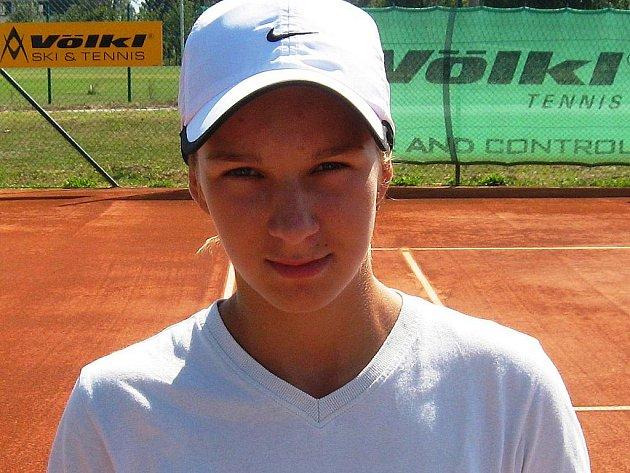 Kyjovská tenistka Nikola Struhárová vyhrála v Brně turnaj ve čtyřhře.