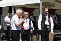 Dvanáct dechových kapel předvedlo na ratíškovickém osmačtyřicátém Mezinárodním festivalu dechových hudeb své umění.