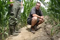Na Hodonínsku je podle ředitele Výzkumného ústavu meliorací a ochrany půdy Jiřího Hladíka vymílání půdy nejhorší.