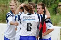 Hodonínští fotbalisté.