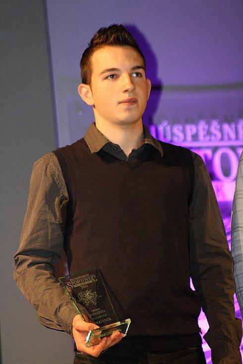 Vyhlášení ankety Nejúspěšnější sportovec Hodonínska 2011 - Jakub Kornfeil.