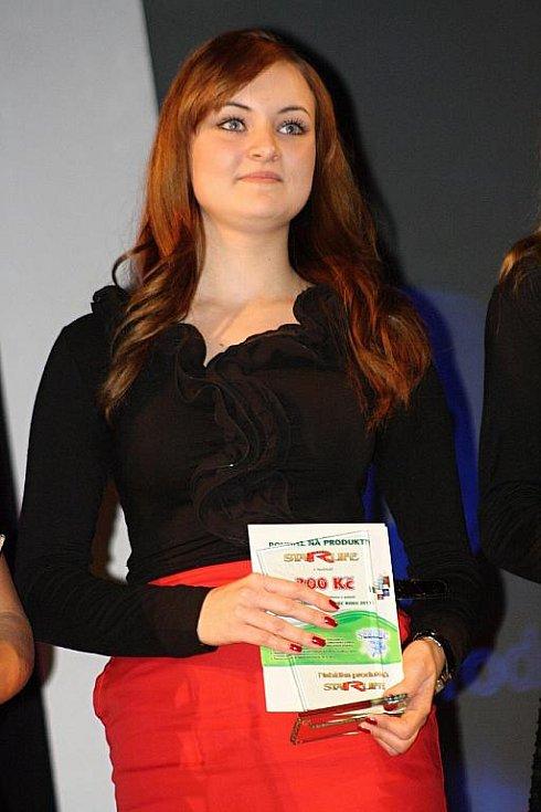 Vyhlášení ankety Nejúspěšnější sportovec Hodonínska 2011 - Jitka Pešková.