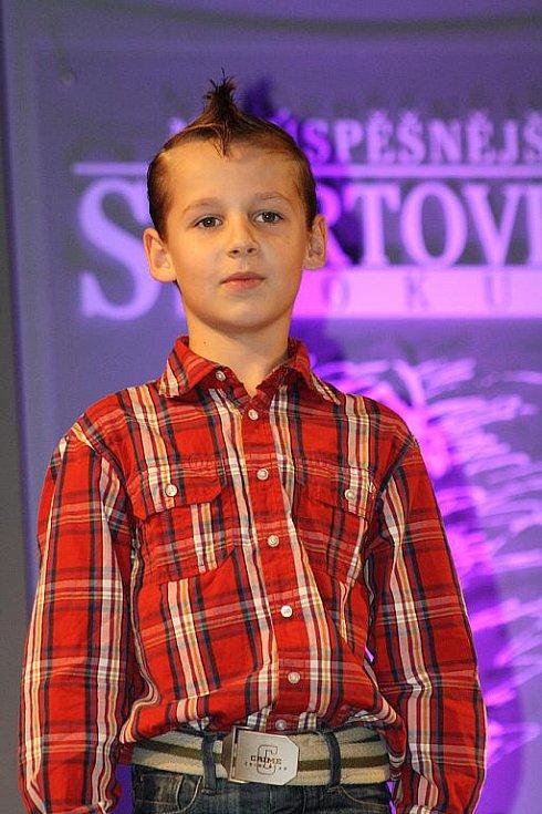 Vyhlášení ankety Nejúspěšnější sportovec Hodonínska 2011 - Dominik Steiner.