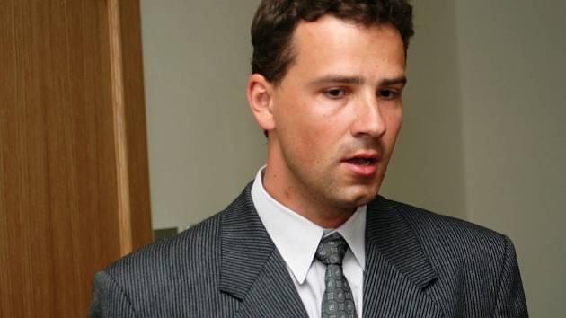 Pavel Prošvic u Okresního soudu v Hodoníně